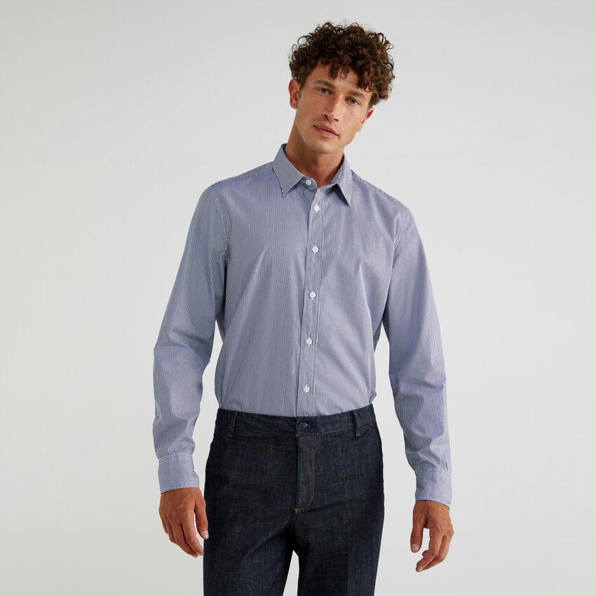 Yarn dyed cotton shirt