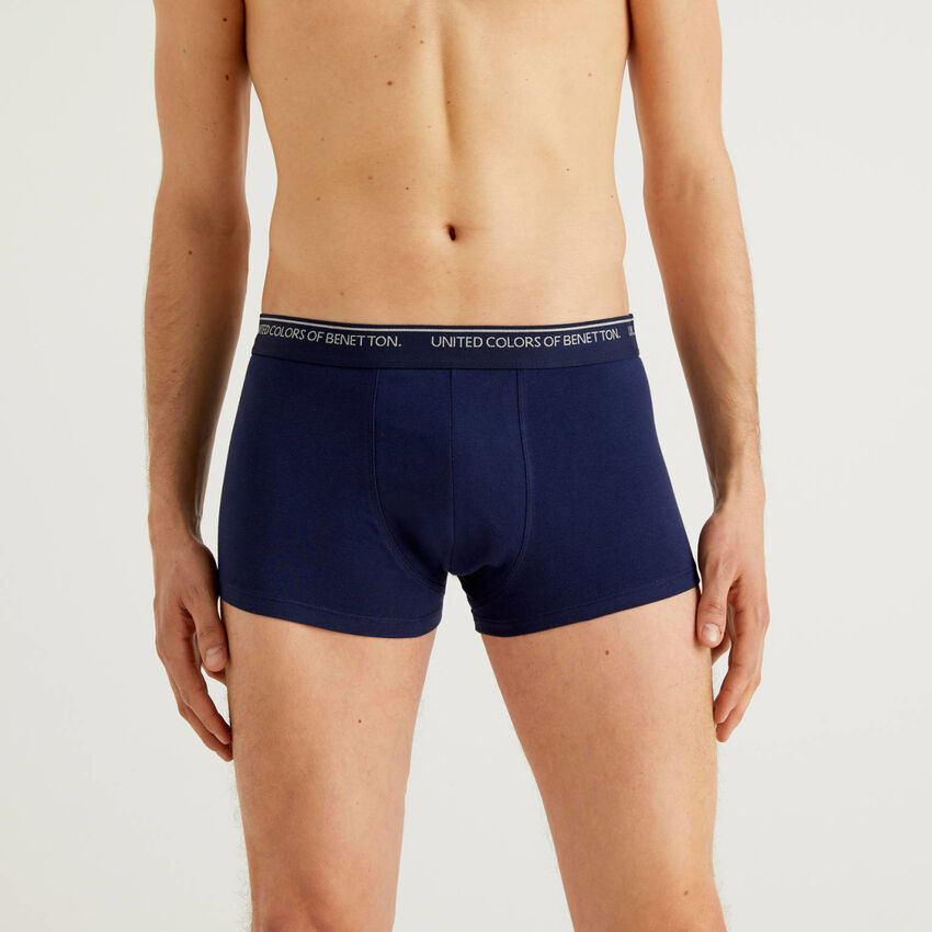 Fitted boxers in organic cotton