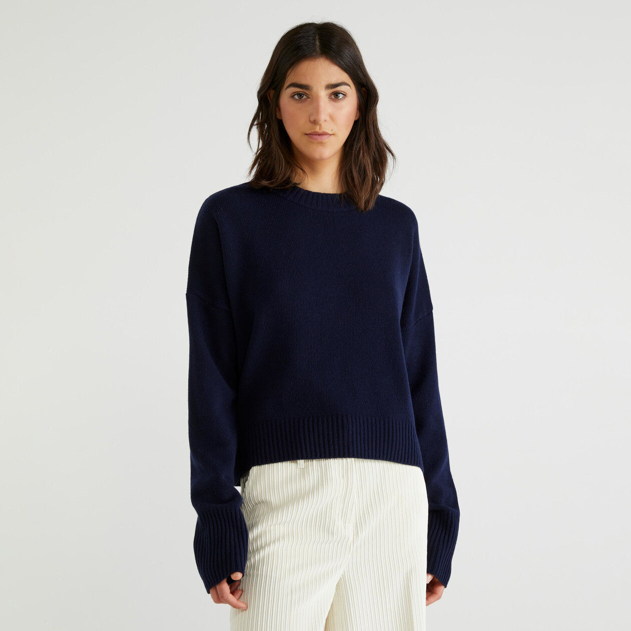 Sweater in wool blend