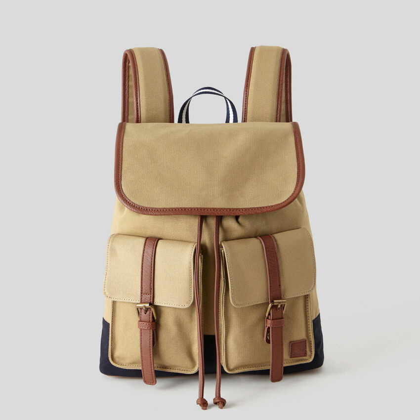 Maxi fabric rucksack