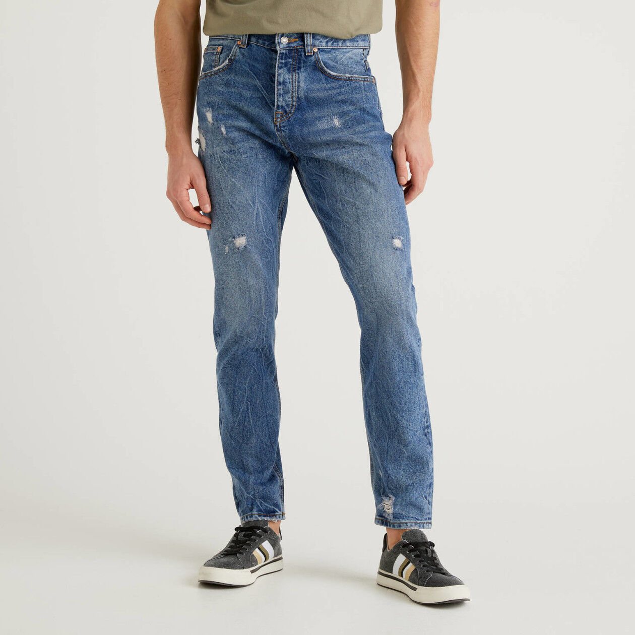 Five-pocket regular fit jeans