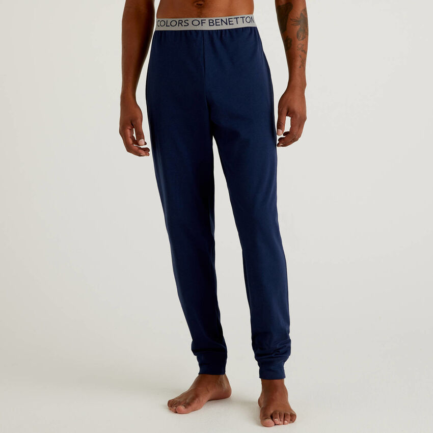 Trousers in organic cotton