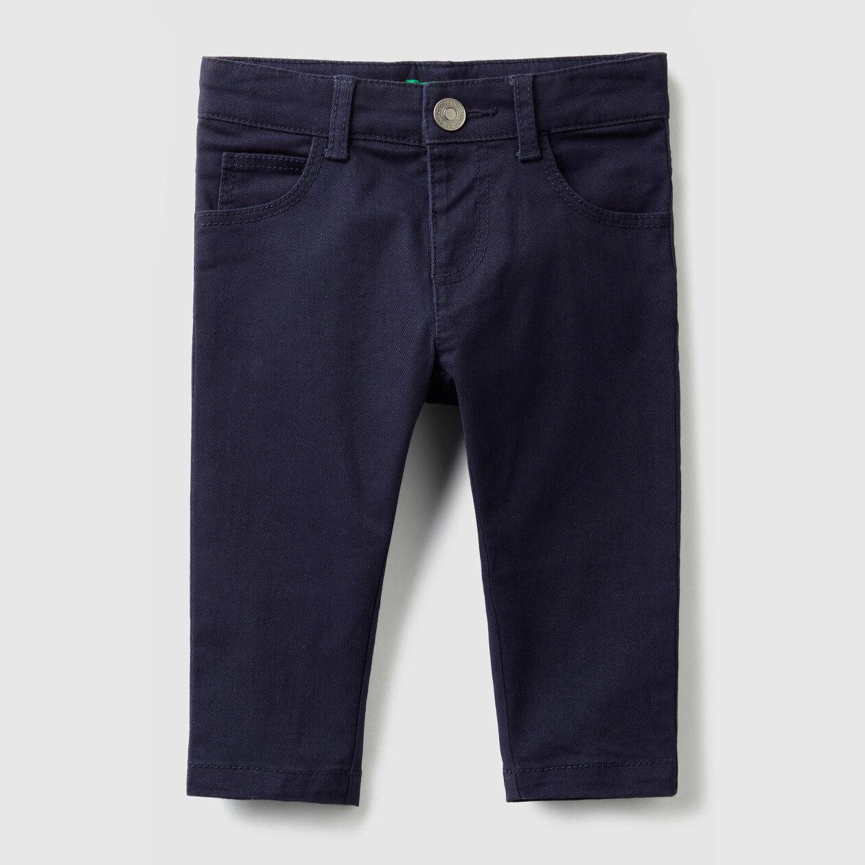Slim fit stretch pants