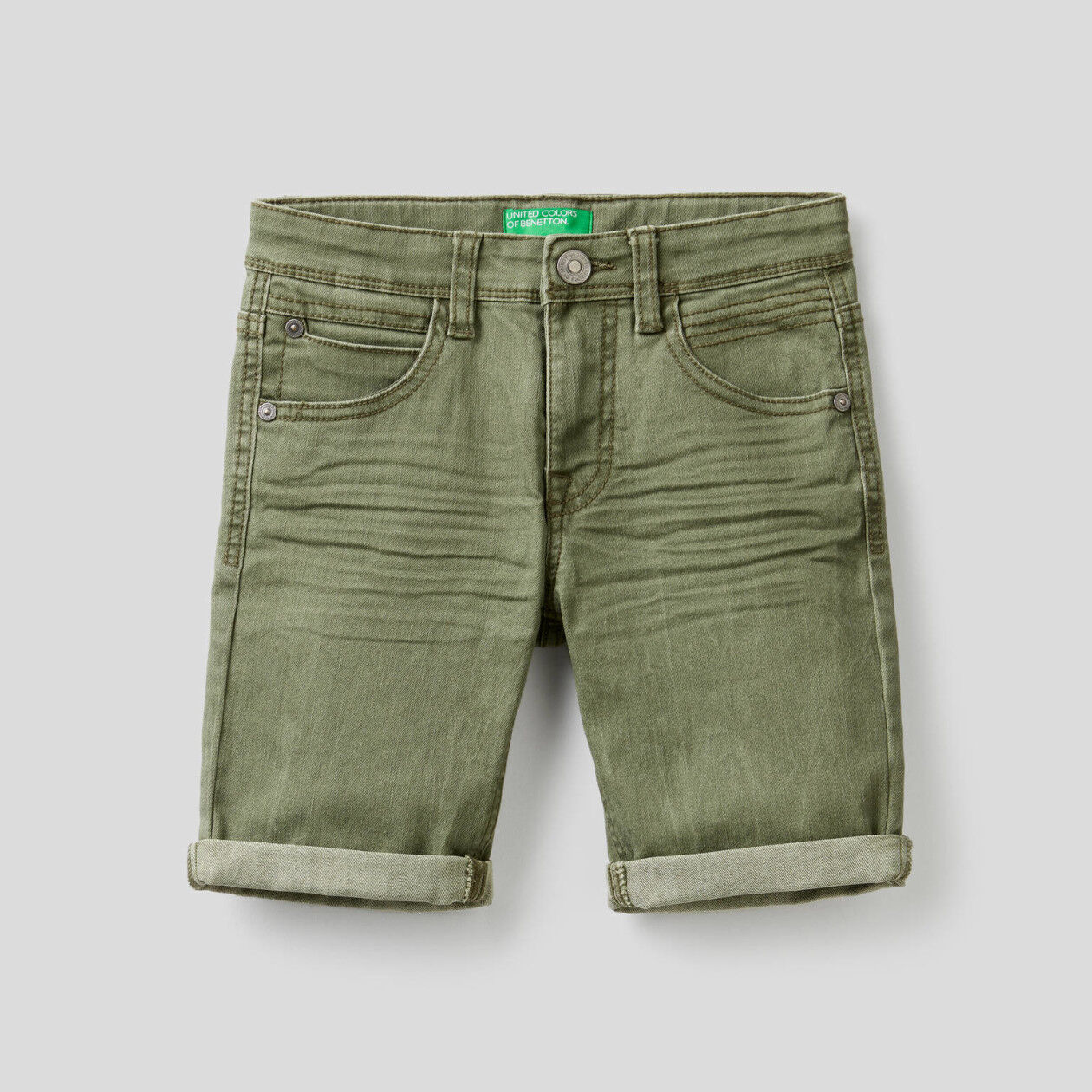 Slim fit bermudas