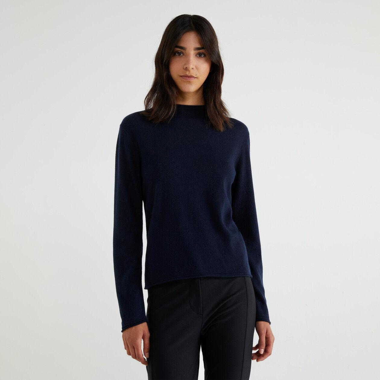 Cashmere blend turtleneck sweater