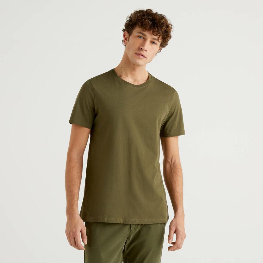 Customizable military green t-shirt