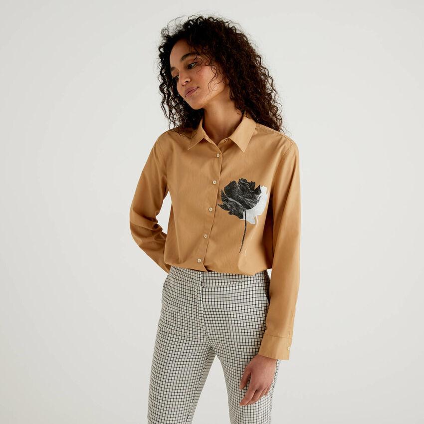 Shirt with print