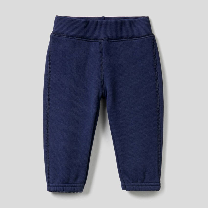 Sweatpants with embroidery on back