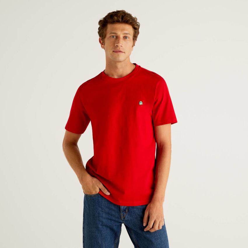100% organic cotton basic t-shirt