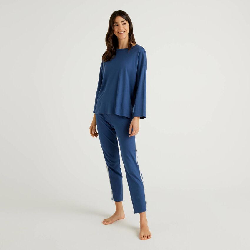 Pyjamas in pure cotton