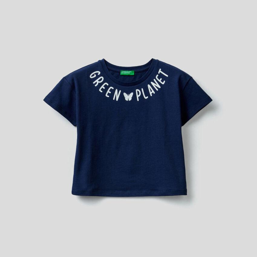 Pure cotton boxy t-shirt