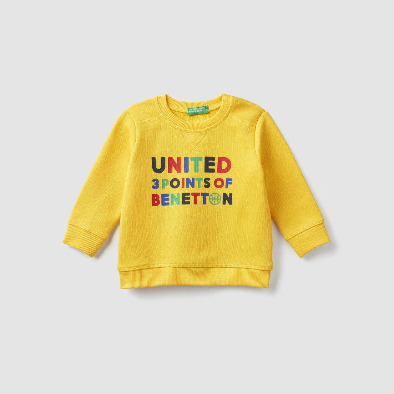 Sweatshirt in organic cotton